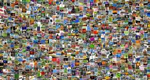 Mosaik aus Bildern
